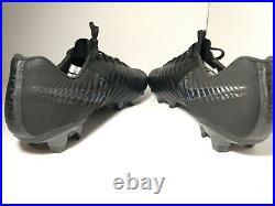 Nike Tiempo Legend VII 7 Elite FG Soccer Cleats Black AH7238-001 Men's 9.5