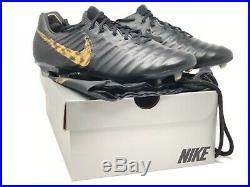 Nike Tiempo Legend VII 7 Elite FG Soccer Cleats Black Men's AH7238-077