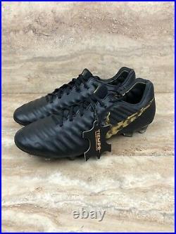 Nike Tiempo Legend VII 7 Elite FG Soccer Cleats Black Vivid Gold ACC