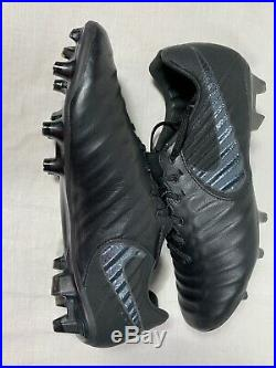 Nike Tiempo Legend VII 7 Elite FG Stealth Ops Black AH7238-001 Size 8.5