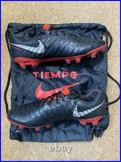 Nike Tiempo Legend VII 7 Elite FG Sz 10 Soccer Black AH7238-006 Kangaroo Leather