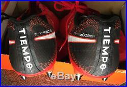 Nike Tiempo Legend VII 7 Elite SG-Pro Soccer Cleats Red/Black 897753-617 Size 9