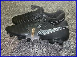 Nike Tiempo Legend VII ELITE FG Soccer Cleats AH7238-001 Men Size 10 Black NEW