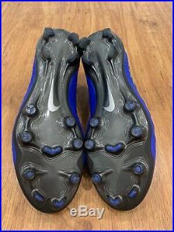 Nike Tiempo Legend VII Elite FG ACC Mens Blue AH7238-401 Sz 9.5 Italy