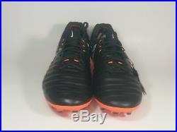 Nike Tiempo Legend VII Elite FG Black Total Orange (AH7238-080) Sz 8.5 $230
