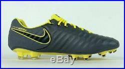 Nike Tiempo Legend VII Elite FG Soccer Cleats Dark Grey AH7238-070 Sz 10