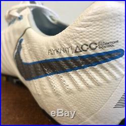 Nike Tiempo Legend VII Elite SG-Pro Anti Clog White/Blue AH7253-108 Size 10.5