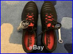 Nike Tiempo Legend VII Elite SG, UK 10.5, Black/Red/Silver, Worn once