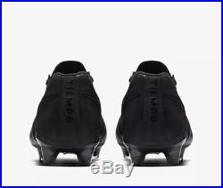 Nike Tiempo Legend VII FG Blackout Pack Black Uk 8.5