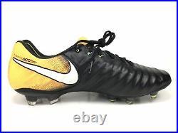 Nike Tiempo Legend VII FG Laser Orange Black Volt 897752-008 Men's Size 11.5