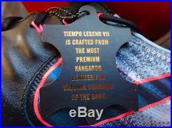Nike Tiempo Legend VII FG/Leder/schwarz/grau/blau/pink/Herrenmodell/897752004