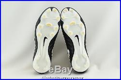 Nike Tiempo Legend VII FG SIZE 9 NEW 897752-002 Boots White Gold Soccer