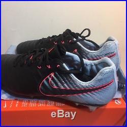 042f7e9e9b7d Nike Tiempo Legend VII FG Soccer Cleat Black Armory Navy Size 7 897752 004  sz 11