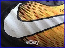 Nike Tiempo Legend VII Fg(897752-008) Black Laser Orange Volt Mens Sz 9