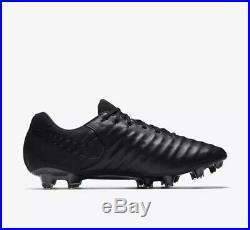 Nike Tiempo Legend VII Fg Acc Premium Kangroo Leather Uk8.5 Eu43, 897752 001 New