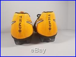 Nike Tiempo Legend VII Fg Black Laser Orange Volt Mens Size 7us (897752-008)