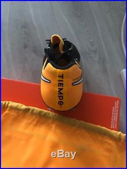Nike Tiempo Legend VII Fg Mens BNIB UK size 8.5Football boots Yellow black BNIB