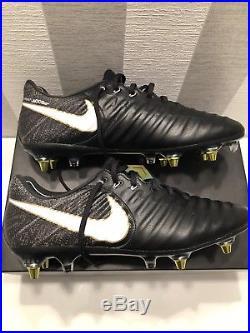 5af9876d4 Nike Tiempo Legend VII SG Pro Anti Clog AC Football Boots Black UK8 ...