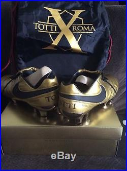 brand new 353ed 23e7f Nike Tiempo Legend Vi 6 Se Fg Totti X Roma Us Size 10.5
