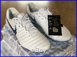 Nike Tiempo Legend Vii Elite Fg Acc Flyknit Uk8.5/eur43/Us9.5 Mens Football