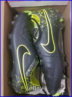 Nike Tiempo Legend elite 5 V 10 US 9 UK Anthracite soccer cleats 631518 006