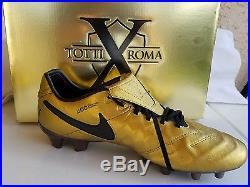 Nike Tiempo Legend vi 6 FG SE Totti. U. S Size 11.5