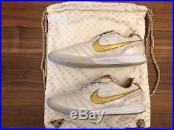 e12be4d9316 Nike Tiempo Lunar Legend 7 Elite IC R10 Size 8.5 Ronaldinho Indoor Cleats
