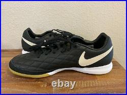 Nike Tiempo Lunar Legend 7 Pro 10R IC Soccer Shoes Blk AQ2211-027 Mens Size 9.5