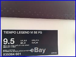Nike Tiempo Pirlo Legend VI SE FG Red Wine 835364-601, Size 9.5