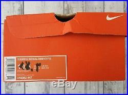 Nike Tiempo Ronaldinho FG R10 legend elite 315362 447 10.5