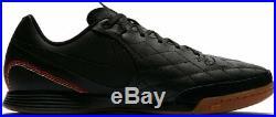 Nike Tiempo X Legend VII 10R Academy Ronaldinho Indoor IC 2018 Soccer Shoes Blk