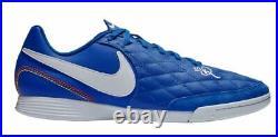 deslealtad patrulla Merecer  Nike Tiempo X Legend VII 10R Academy Ronaldinho Indoor IC 2018 Soccer Shoes  Blue