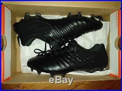 df34c9441062 June 13, 2018 Nike Tiempo legend 7 elite academy pack black out soccer  cleats size 8