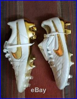 Nike tiempo legend v Ronaldinho touch of gold size 8 fg