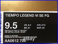 Nike tiempo legend vi Totti Gold