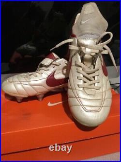 RARE RONALDINHO Nike Air Tiempo Legend SG Size 8
