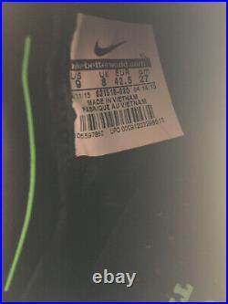 Rare Nike Tiempo Legend V 5 FG Soccer Cleats Size 9 Elite Gray ACC Leather