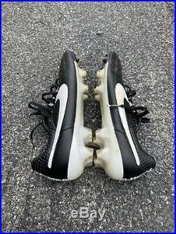 Rare Nike Tiempo Legend V FG Black/White Mens Size 11 Soccer