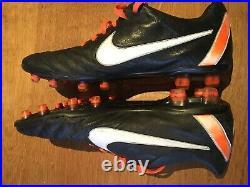 Rare Pro Player Issue Nike Tiempo Legend IV Elite FG Carbon Sole Size 8.5