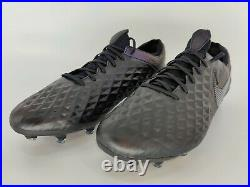 Size 10 Nike Tiempo Legend 8 Elite FG ACC Kinetic Black Soccer Cleat AT5293-010