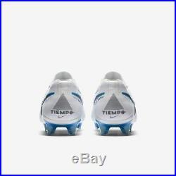Tiempo Legend 7 Elite FG UK 7.5 (EUR 42) New White Blue AH7238 107