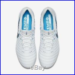 Tiempo Legend 7 Elite FG UK 7 (EUR 41) New White Blue AH7238 107