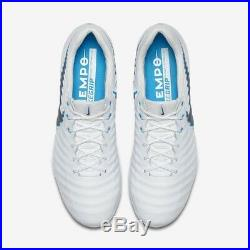 Tiempo Legend 7 Elite FG UK 8.5 (EUR 43) New White Blue AH7238 107
