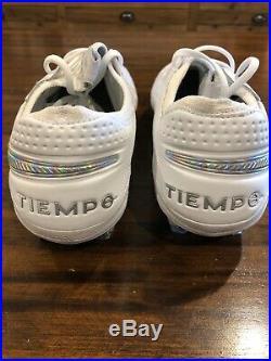 Tiempo Legend 8 Elite FG'White Platinum' Nike AT5293 100 Mens Size 10 New