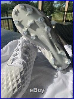 Tiempo Legend 8 Elite FG'White Platinum' Nike AT5293 100 Mens Size 7.5