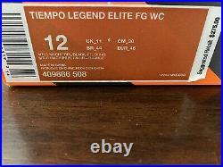 Tiempo legend elite fg WC. Size 12 Rare