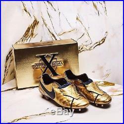Totti x Roma Nike Tiempo Legend VI SE FG Gold AA0612-706 US 8, 8.5, 9, 9.5, 10